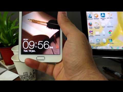 Galaxy Note White 4G LTE: Hands On And First Look