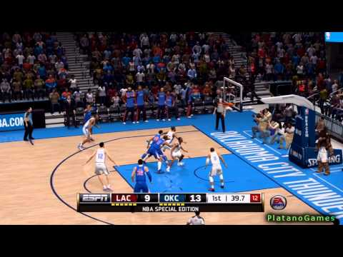 NBA Playoffs - Los Angeles Clippers vs Oklahoma City Thunder - Game 5 - 1st Half - Live 14 - HD