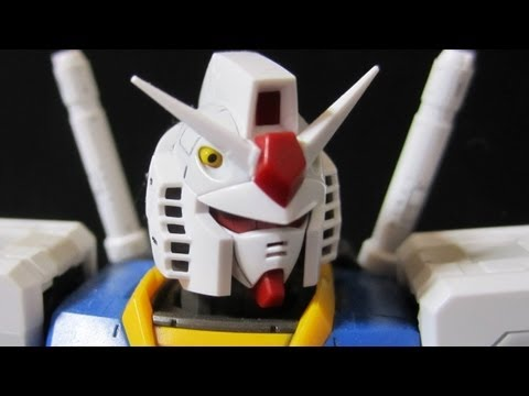RG Gundam (Part 3: Plates) Real Grade 1/144 RX-78-2 gunpla review
