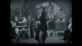 Sensual Show Girl Dance from 1955 Toto Film