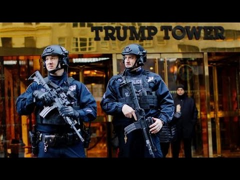 The Task of Securing President-Elect Donald Trump
