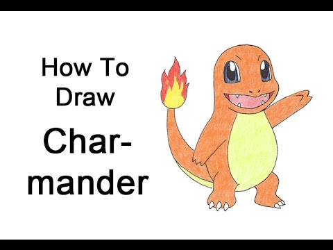 How to Draw Charmander (Pokemon)