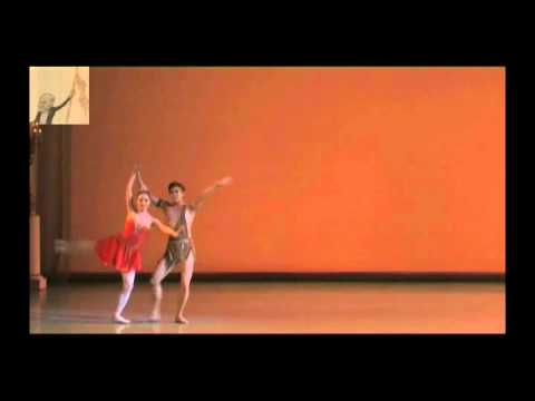 2008 Vaganova Ballet Academy Graduation (excerpts 7/7) - Diana and Actaeon Pas de Deux