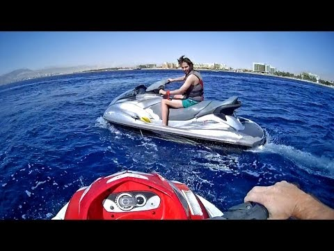 Aqaba, Jordan Travel / Jordania turismo, Jet Ski, Watercraft, Water Scooter, Motos de agua acuáticas
