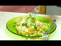 Complete Homemade Creamy Garlic Fettuccine Alfredo Video Recipe | Bhavna's Kitchen