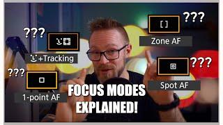 Canon M6 mark II focus modes explained