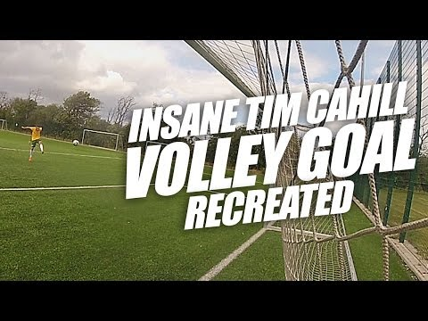 INSANE Tim Cahill Volley Goal vs the Netherlands RECREATED - World Cup with Unisport