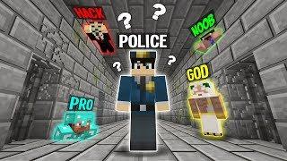 ESCAPE FROM PRISON CHALLENGE! NOOB vs PRO vs HACKER vs GOD in Minecraft Animation