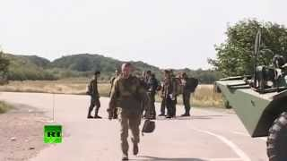 Группа украинских военных попросила убежища на погранпункте в Ростовской области