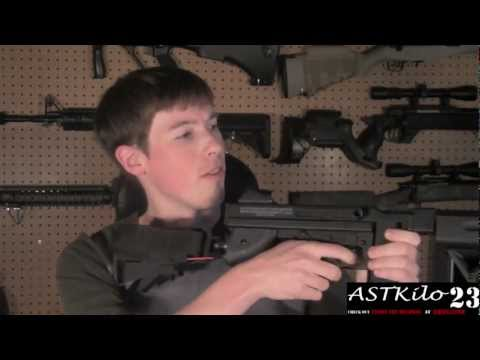 Modernizing A Classic Sub Machine Gun - Thompson M1A1  -ASTKilo23-
