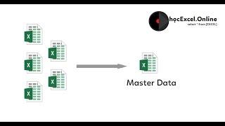 Tổng hợp dữ liệu từ nhiều file excel vào 1 file không cần mở file