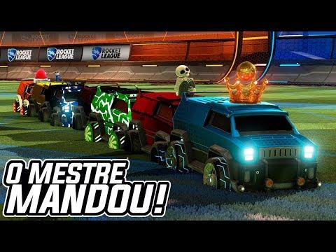 ELE VOLTOU, O MELHOR MESTRE MANDOU?!! c/ Rumble - Rocket League