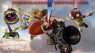 Plantas VS Zombis: Garden Warfare Personalización/Custom Clase Planta Carnívora