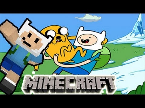 hora de aventura MineCrafteo