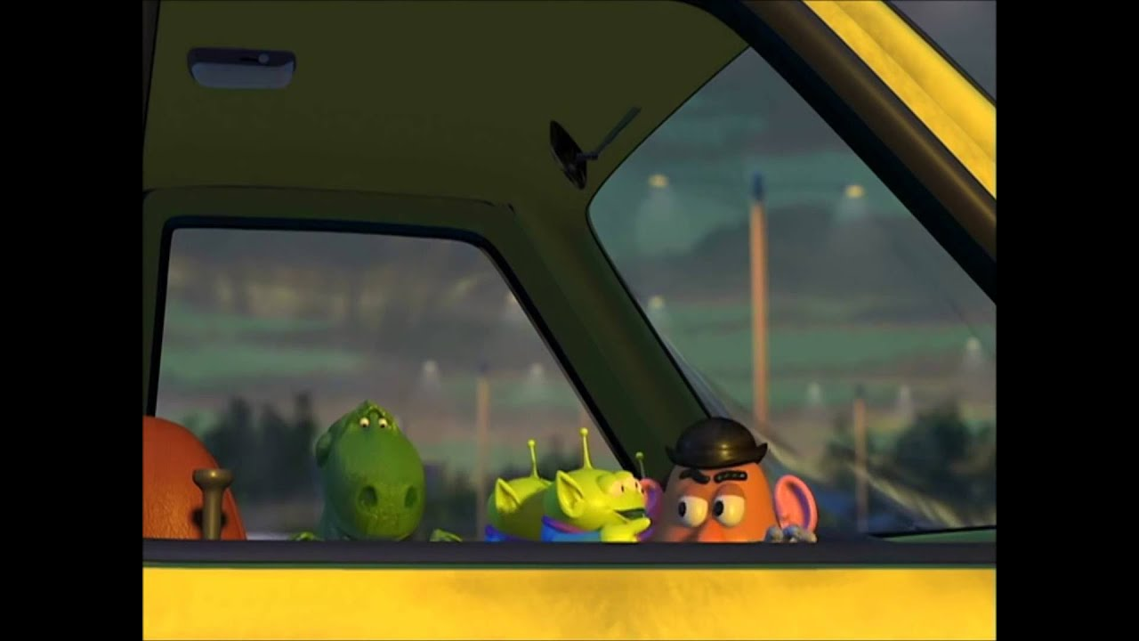 Toy Story 2-Pizza Truck Driving Scene - YouTube
