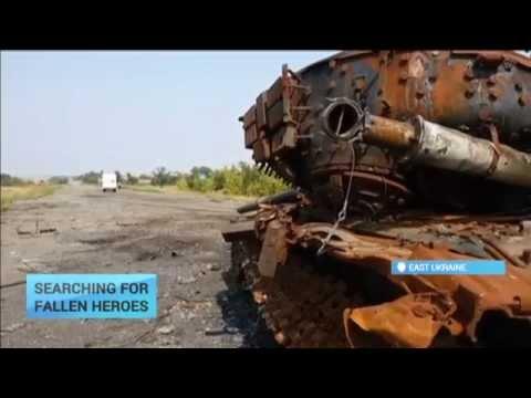 Searching for Fallen Heroes: Ukraine ceasefire helps volunteers bring dead soldiers home