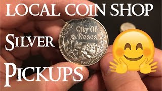Local Coin Shop Silver Pickups