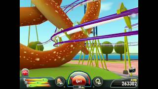Coaster Crazy on iPad - Mission 1 @ N. America