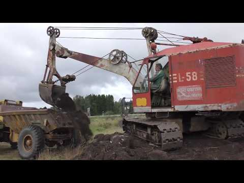 Machine meeting in  Trädet 2017 (rope excavator)
