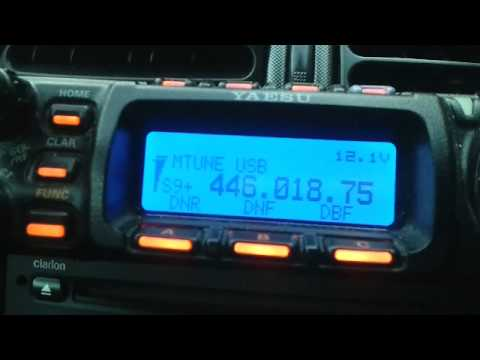 Icom ic 7000 tx audio test on usb on pmr 446