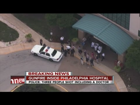 Shooting at hospital near Philadelphia injures 3