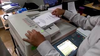 Setting mesin fotocopy : Cara Scan dan Transfer Ke Komputer dengan Fotokopi Canon