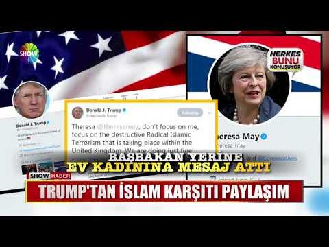 Trump'tan İslam karşıtı paylaşım