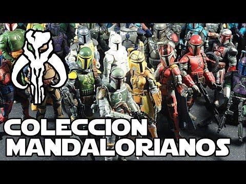 TODOS los Mandalorianos que existen de Hasbro  - Star wars Juguetes