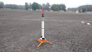 Estes Mercury Redstone rocket