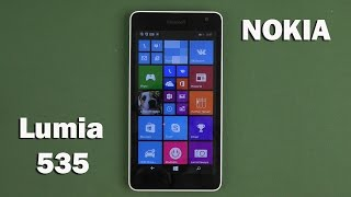 Распаковка Microsoft Lumia 535 (Nokia) DS White
