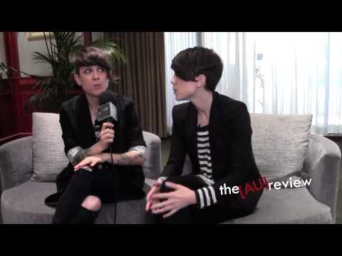 Tegan and Sara Interview on YouTube, the Sydney Opera House and Groovin&#039; The Moo! (Part One)