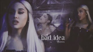 Ariana Grande Bad Idea Music Audio