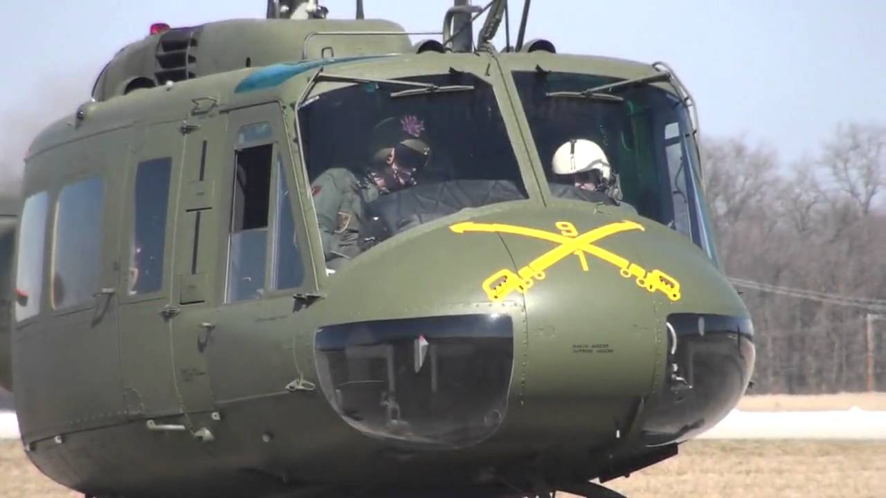 Huey Helicopter For Sale >> Restored Vietnam UH-1H Bell Huey First Flights HD - YouTube