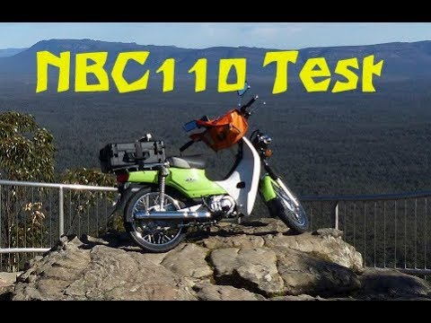 Honda NBC110 Postie Bike Test in the Grampians