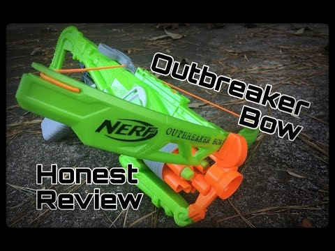 Honest Review: Nerf Outbreaker Bow (Zombie Strike Crossbow 2.0)