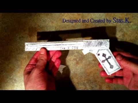 How to make a Paper Gun shoots