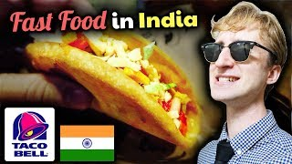 DELICIOUS Taco Bell in India Review // Indian Fast Food Tour