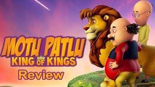 Motu Patlu King of Kings Movie Trailer Review
