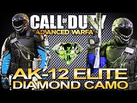 AK-12 R.I.P. w Diamond  Gold Elite Camo - I LOVE THIS GUN!! (...