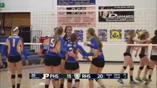 Rampart vs Palmer volleyball full broadcast