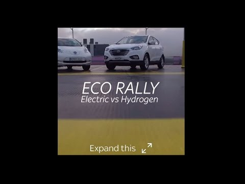 Eco Rally - Hydrogen & Electric Cars Race From London To Paris