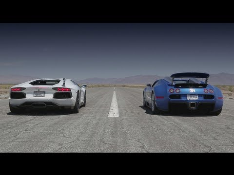 Watch Bugatti Veyron vs Lamborghini Aventador vs Lexus LFA vs McLaren MP4-12C - Head 2 Head Episode 8