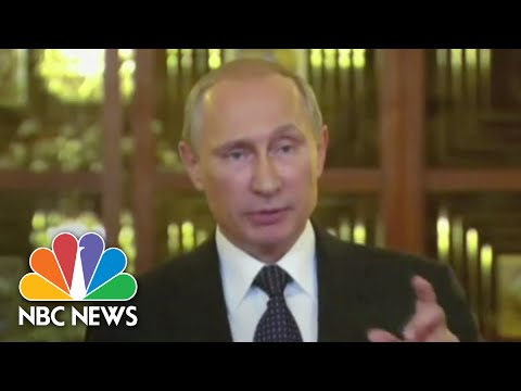Putin Blames Ukraine For Malaysian Air Tragedy | NBC News