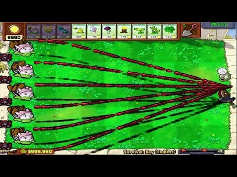 235 CATTAIL HACK 100% POPCAP PLANTS VS ZOMBIES