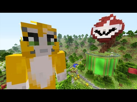 Minecraft Xbox Mario 64 WHY AM I BAD AT MINECRAFT {3}