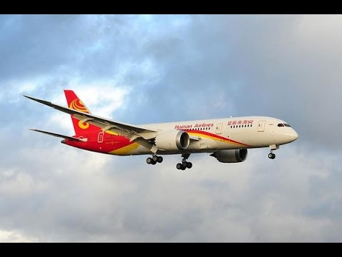 Hainan Airlines Boeing 787 Landing at Toronto Pearson International Airport [HD]
