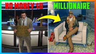 Broke To Millionaire In 6 Simple Steps! - Money Making Guide For NEW/Beginner Players In GTA Online!