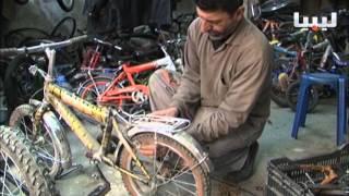 تقرير: مصراتة... مهنة تصليح الدراجات تقاوم