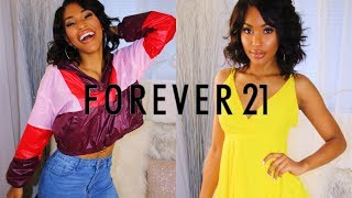 $700 Back To School Clothing Try On Haul Forever 21