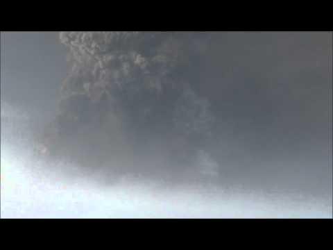Вулкан Grimsvotn [ HD ] - 24.05.2011